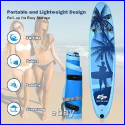 Adjustable Inflatable Surfboard Stand-Up 16cm Thick SUP Inflatable Paddle Board