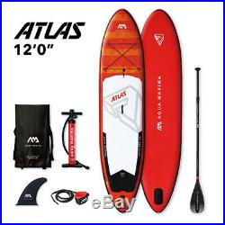 Aqua Marina Atlas 12'0 Inflatable Stand Up Paddle Board Package