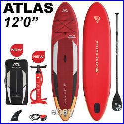 Aqua Marina Atlas 12'0 Inflatable Stand Up Paddle Board iSUP 2021