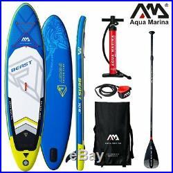 Aqua Marina Beast Sup Board Stand up Paddling Surfboard 320cm Inflatable Paddle