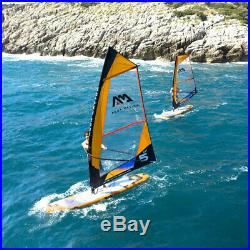 Aqua Marina Blade Windsurf Inflatable Stand Up Paddle Board (iSUP) & 3m Sail