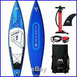 Aqua Marina Hyper SUP-Set Stand Up Paddle Inflatable Board ISUP Surf Touring NEU