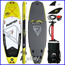 Aqua Marina Rapid SUP-Set Stand Up Paddle Board ausfblasbar ISUP Surf inflatable