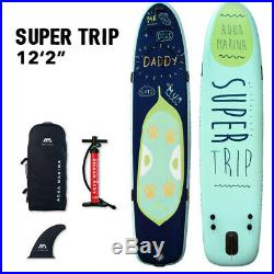 Aqua Marina Super Trip 12.2 Family Inflatable Stand up Paddle Board (iSUP)