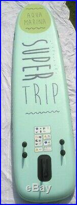 Aqua Marina Super Trip 12' Family Inflatable SUP + Paddles, leash, Camera mount
