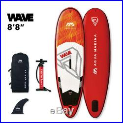 Aqua Marina Wave 8'8 Surf Inflatable Stand up Paddle Board (iSUP)