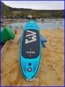 Aqua marina vapor inflatable stand up paddle board isup