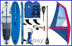 BRUNELLI 10.8 Windsurf Premium Sup With Inflatable Irig Sail Size M