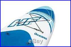 Bestway Hydro-Force Oceana Inflatable SUP Stand Up Paddle board Set Blue 10 ft