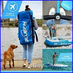 Bluefin SUP Inflatable Stand Up Paddle Board Junior 8' + Kayak Conversion Kit
