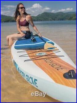 Body Glove Performer 11 Inflatable Stand Up Paddle Board & All Accessories 2020