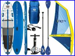 Brunelli 10.8 Windsurf Premium Sup with Inflatable Irig Sail Size L