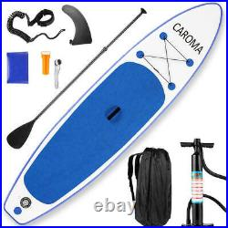 CAROMA 10.5FT Inflatable Stand Up Paddle SUP Board Surfing Board paddleboard UK