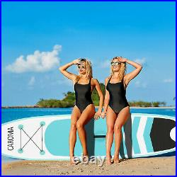 CAROMA 10FT Inflatable SUP Stand Up Paddle Board Surfing surf Board paddleboard