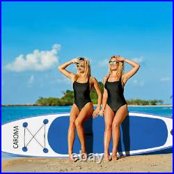 CAROMA Inflatable Stand Up Paddle SUP Board Surfing surf Board paddleboard 320cm
