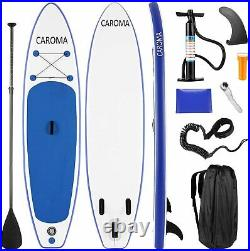 CAROMA Inflatable Surfboard Stand-Up 15 cm Thick SUP Inflatable Paddle Board