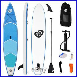 Extra Large 381x80x16CM Inflatable Sports Surfing Board Stand Up Paddle Non-Slip