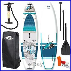 F2 Cruise Windsurf Inflatable Sup Set 10,6 Windsurfoption Komplett Testboard