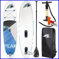 F2 Peak Windsurf Inflatable Sup Set 10,5 Windsurfoption Komplett Testboard