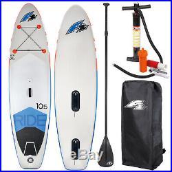 F2 Ride Windsurf Inflatable Sup Set 10,5 Komplettes Set Testboard
