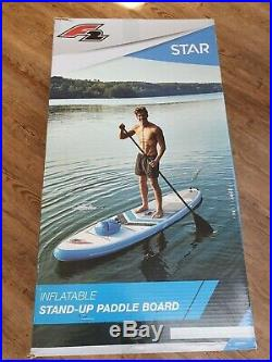 F2 Sup Stand up Paddle Board Inflatable +Paddle +Pump + Bag + Dry sack + seat