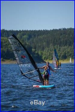 F2 Team Windsurf Inflatable Sup Set 10,5 Komplett + F2 Ride Rigg 5,0 Qm