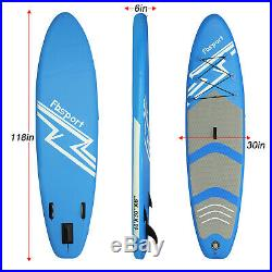FBsport Inflatable SUP Paddle Board Full Set 10FT Surfing Surfboards