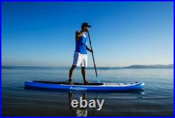 FWater 11' iSUP Premium Inflatable Stand up paddle boards for adults