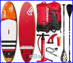 Fanatic Fly Air Premium 10.8 inflatable SUP Windsurf Stand up Paddle Board Board