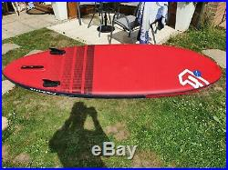 Fanatic Fly Air Premium 9'0 SUP Stand up paddle board Inflatable used 3 times