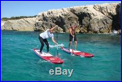 Fanatic Ray Air Premium 11.6 inflatable SUP Windsurf Stand up Paddle Board Set
