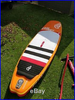 Fanatic Stubby Air Inflatable SUP Paddle Board 8'6 Inc, Bag, Pump, Fins