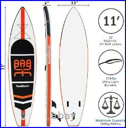 Funwater Inflatable SUP Stand Up Paddle Board Package