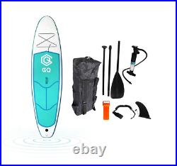 GQ Inflatable SUP Stand Up Paddle board 9'6'' Full Surf Kit BRAND NEW UK