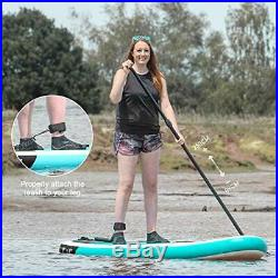 Goosehill Inflatable Stand Up Paddle Board, Premium SUP Package, 10' Long 32
