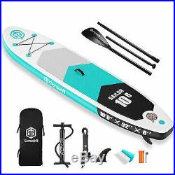 Goosehill Sailor Inflatable Stand Up Paddle Board 10' Long 32 Wide 6 Thick In