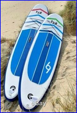 Hot Surf 69 Stand Up Paddle Board ISUP Package 10 ft & 11ft SUP Inflatable Range