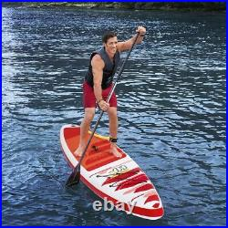 Hydro-Force Bestway Fast Blast SUP Set Inflatable Stand Up Paddle Board, 12ft 6