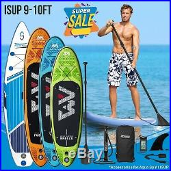 ISUP Inflatable SUP Paddle Board Stand Up Paddleboards w Accessories 4 Models