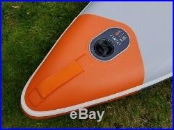 ITIWIT Inflatable Touring Stand Up Paddle Board SUP 12'6 Used Once, Pump&Paddle