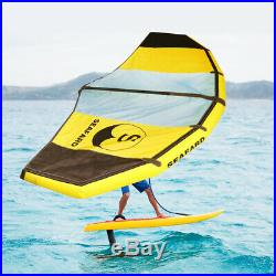 Inflatable 0.9mm PVC 10ft. SUP Sailboat Wind KiteSurfing Paddle Surf Board NEW