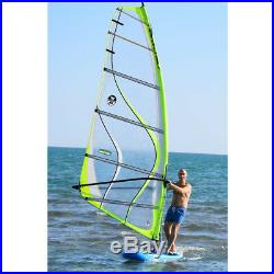 Inflatable 0.9mm PVC 12ft. SUP Sailboat Windsurfing Paddle Surf Board NEW