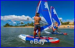 Inflatable 1.2MM PVC 11ft. SUP Sailboat Windsurfing Paddle Surf Board NEW