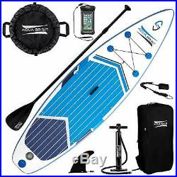 Inflatable 11FT Pro Paddle Board SUP Stand Up Paddleboard & Accessories 6