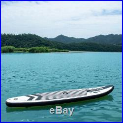 Inflatable 11ft Stand Up Paddle Board SUP Water Surfing WithPump & Accessories