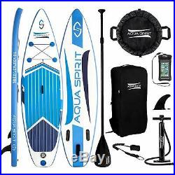 Inflatable Paddle Board SUP Stand Up Paddleboard & Accessories Aqua Spirit
