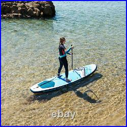Inflatable Paddle Board Stand Up Paddleboard SUP Bag Accessories 10ftx33x4.75