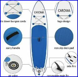 Inflatable SUP Board, Paddle Board Stand Up Paddling Set 350Pound Load Surfboard