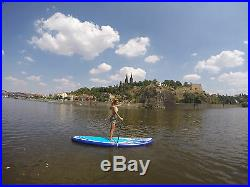 Inflatable SUP Gladiator 10'6 Blue Brand New with Adjustable Paddle and Leash