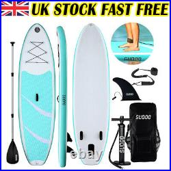 Inflatable SUP Paddle Stand Up Board 10FT Surfing Surfboard Paddling Pump Kayak